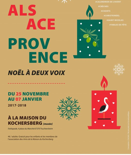 Alsace Provence Noël