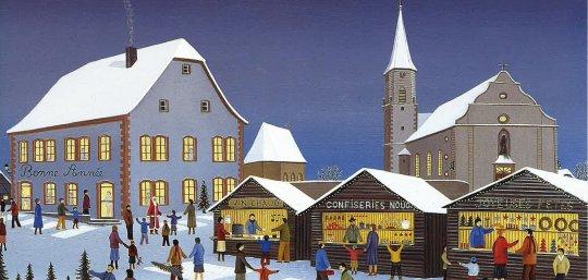 Exposition : Quand l'Alsace merveilleuse vivait sous la neige